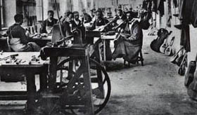 Early violin factory